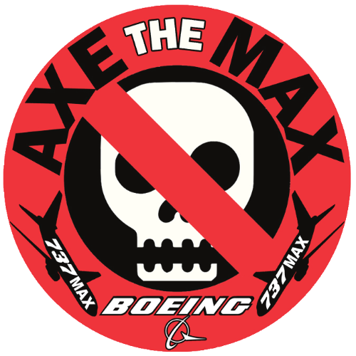 axe the Boeing 737 max